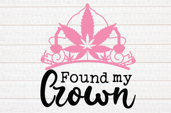 Found My Crown Svg Graphic By Kayla Griffin Creative Fabrica