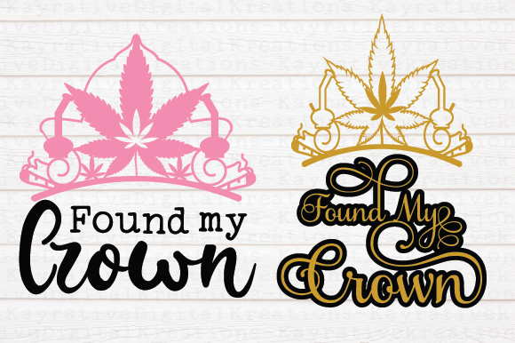 Found My Crown Graphic Crafts By KayrativeDigitalKreations
