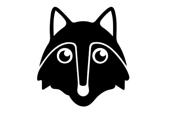 Print on Demand: Fox Icon Graphic Icons By Mine Eyes Design