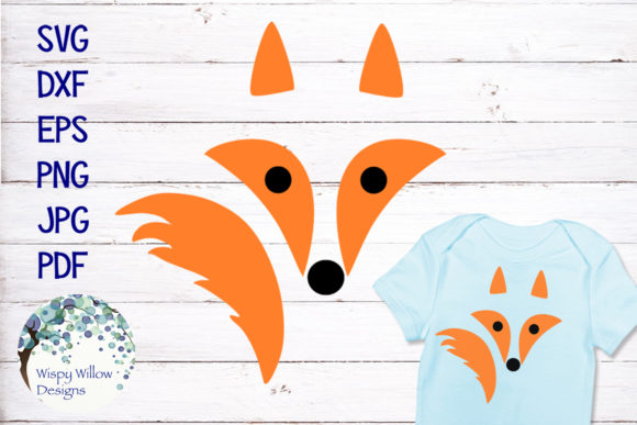 Download Free Fox Graphic By Wispywillowdesigns Creative Fabrica for Cricut Explore, Silhouette and other cutting machines.