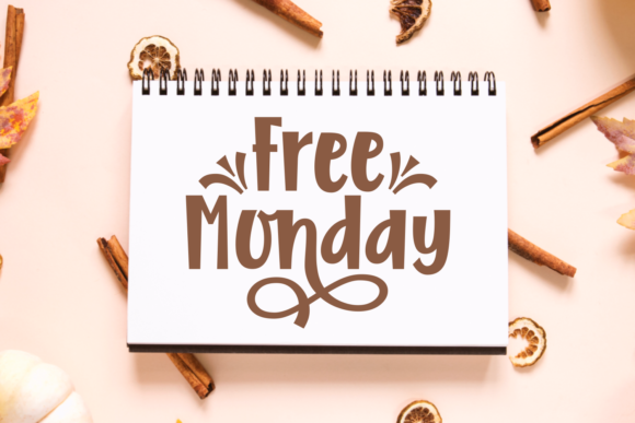 Download Free Free Monday Font By Situjuh Creative Fabrica for Cricut Explore, Silhouette and other cutting machines.