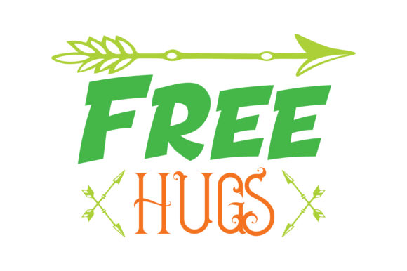 Download Free Free Hugs Quote Svg Cut Graphic By Thelucky Creative Fabrica for Cricut Explore, Silhouette and other cutting machines.