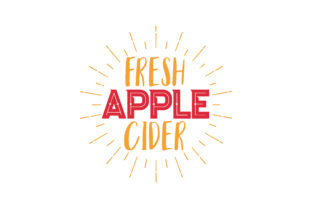 Download Free Fresh Apple Cider Quote Svg Cut Graphic By Thelucky Creative for Cricut Explore, Silhouette and other cutting machines.