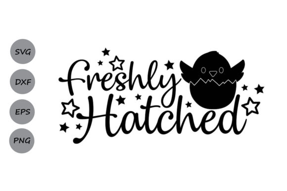 Download Free Freshly Hatched Graphic By Cosmosfineart Creative Fabrica for Cricut Explore, Silhouette and other cutting machines.