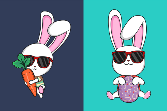 Funkie Bunny SVG Graphic By fadhil figuree Image 4