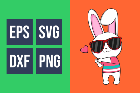 Funkie Bunny SVG Graphic By fadhil figuree Image 5
