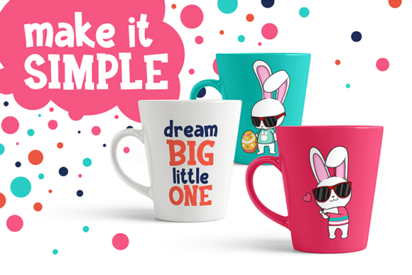 Funkie Bunny SVG Graphic By fadhil figuree Image 7