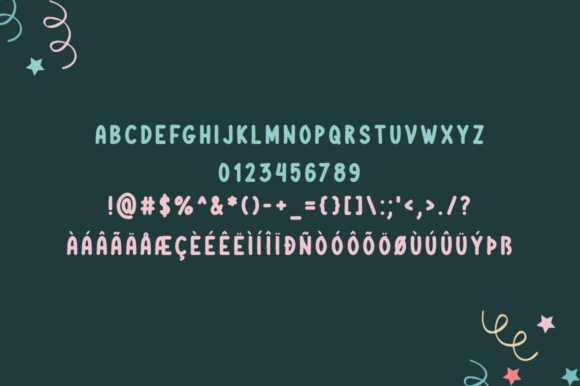 Print on Demand: Funny Cactus Display Font By Shattered Notion - Image 5