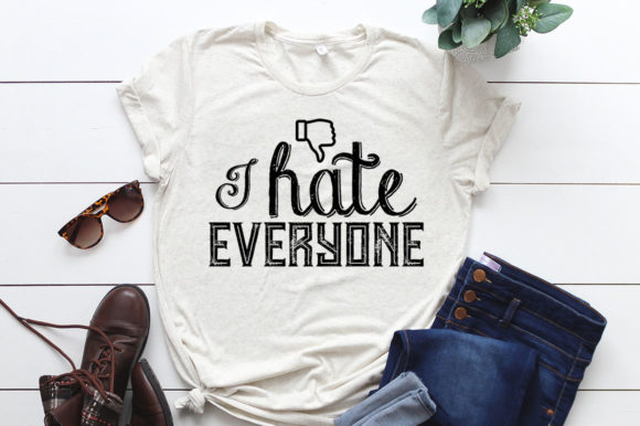 Funny Typography T-shirt Bundle