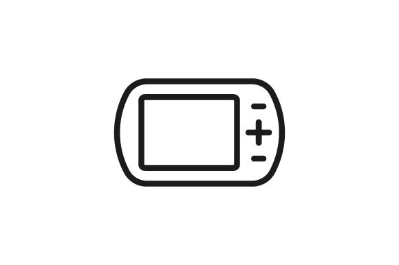 Download Free Game Pad Icon Graphic By Kanggraphic Creative Fabrica for Cricut Explore, Silhouette and other cutting machines.