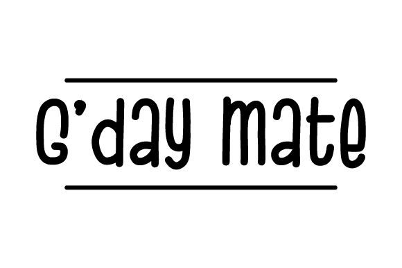 Download Free G Day Mate Svg Cut File By Creative Fabrica Crafts Creative for Cricut Explore, Silhouette and other cutting machines.