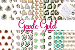 Geode Gold Graphic By fantasycliparts