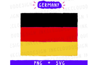 Germany Flag Graphic By Inkclouddesign