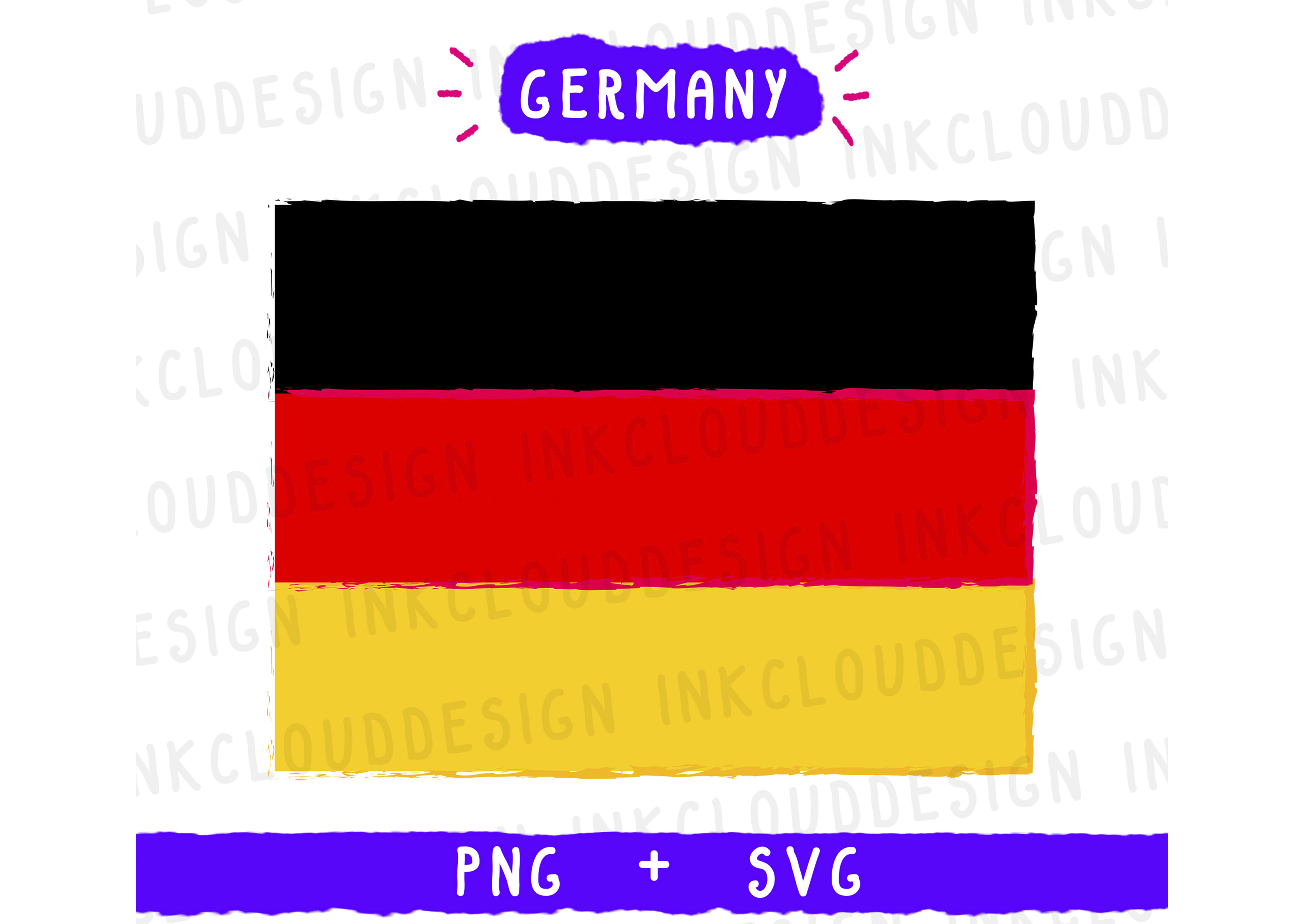 Download Free Germany Flag Graphic By Inkclouddesign Creative Fabrica for Cricut Explore, Silhouette and other cutting machines.