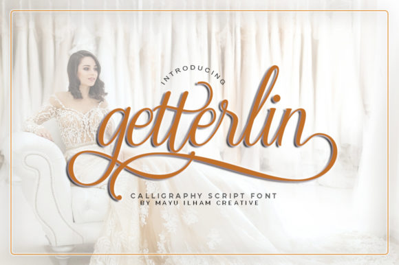 Print on Demand: Getterlin Script & Handwritten Font By mayuilhamcreative