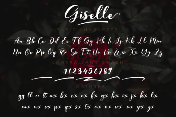 Print on Demand: Giselle Script & Handwritten Font By NissaStudio - Image 11
