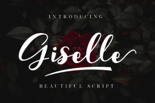 Print on Demand: Giselle Script & Handwritten Font By NissaStudio