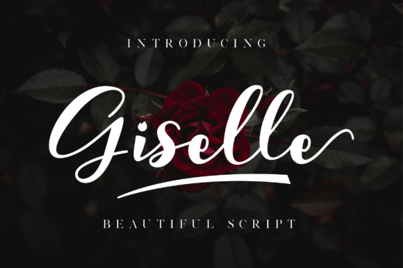 Print on Demand: Giselle Script & Handwritten Font By NissaStudio - Image 1