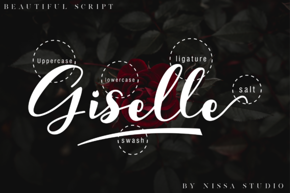Print on Demand: Giselle Script & Handwritten Font By NissaStudio - Image 8