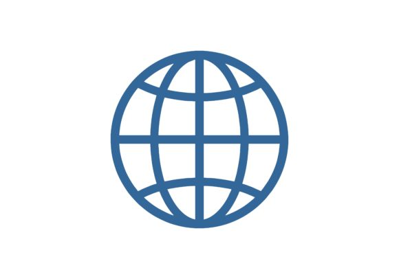 Download Free Globe Global Logo Graphic By 2qnah Creative Fabrica for Cricut Explore, Silhouette and other cutting machines.
