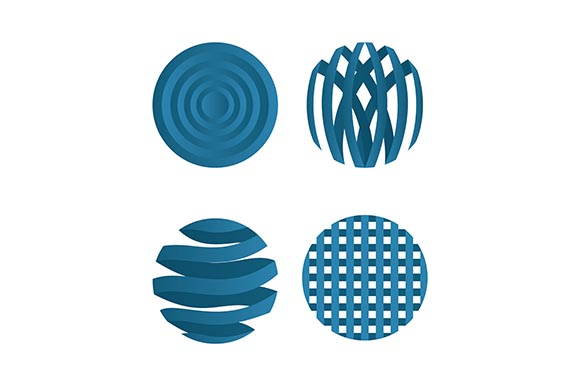 Download Free Globe Vector Icons Logo Design Graphic By Rohmar Creative for Cricut Explore, Silhouette and other cutting machines.