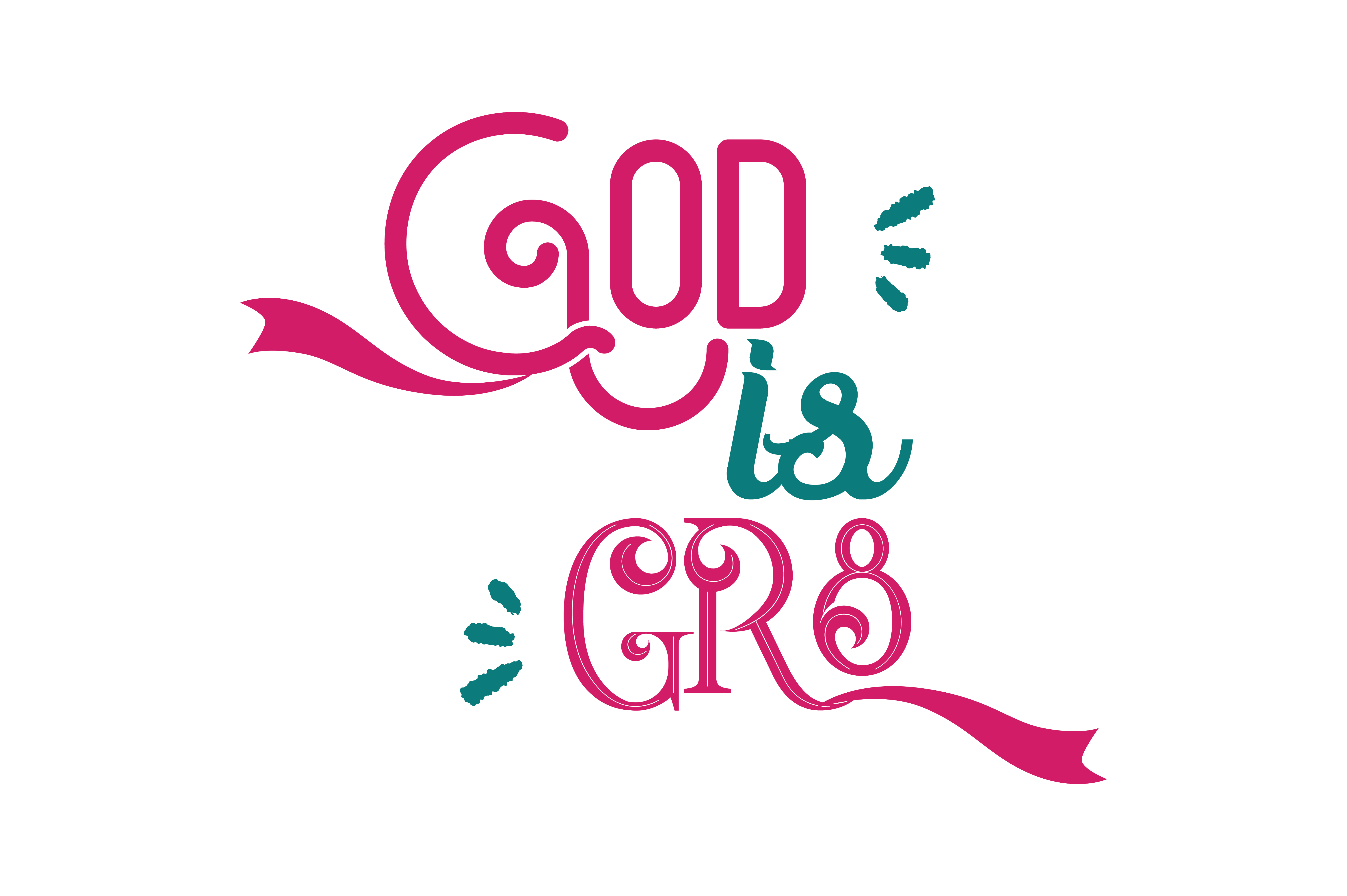 Download Free God Is Gr8 Quote Svg Cut Graphic By Thelucky Creative Fabrica for Cricut Explore, Silhouette and other cutting machines.