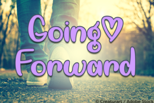 Going Forward Font By Misti