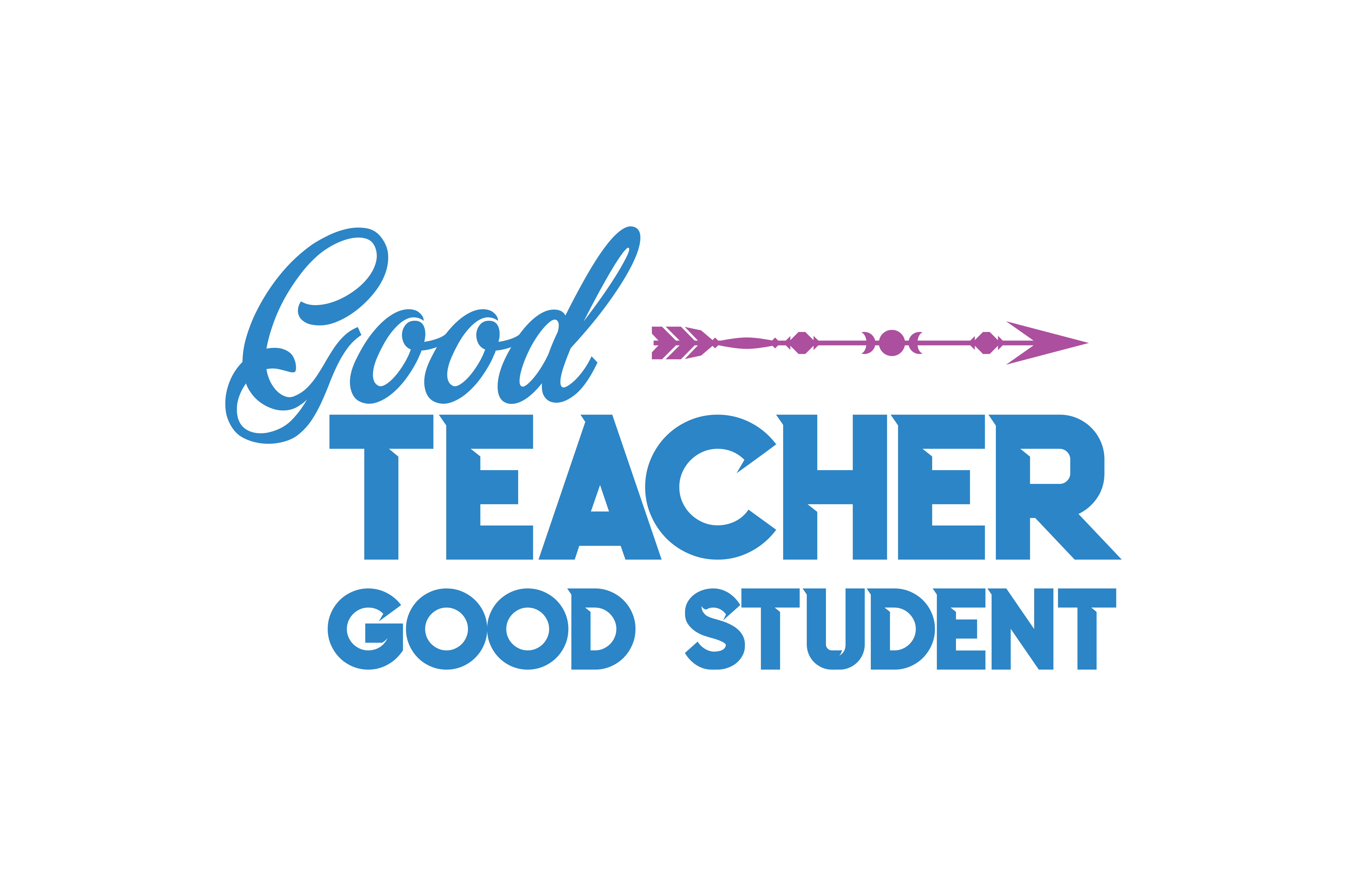 Download Free Good Teacher Good Student Quote Svg Cut Graphic By Thelucky for Cricut Explore, Silhouette and other cutting machines.