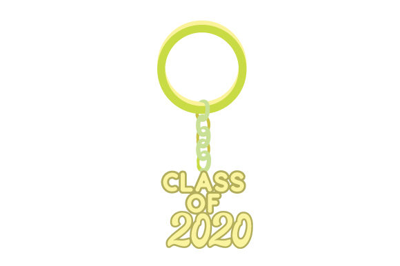 Download Free Graduation Keychain 2020 Svg Cut File By Creative Fabrica Crafts for Cricut Explore, Silhouette and other cutting machines.