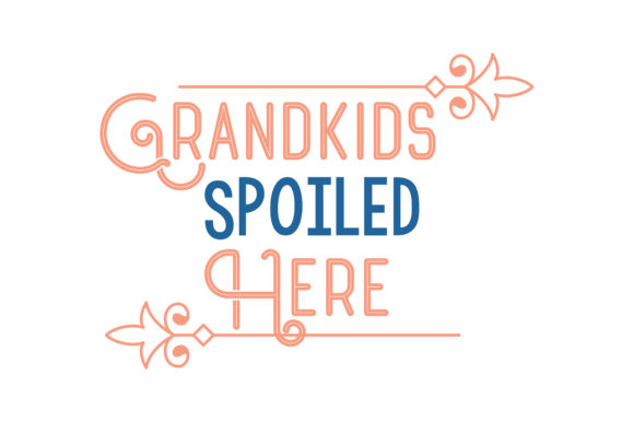 Download Free Grandkids Spoiled Here Quote Svg Cut Graphic By Thelucky for Cricut Explore, Silhouette and other cutting machines.