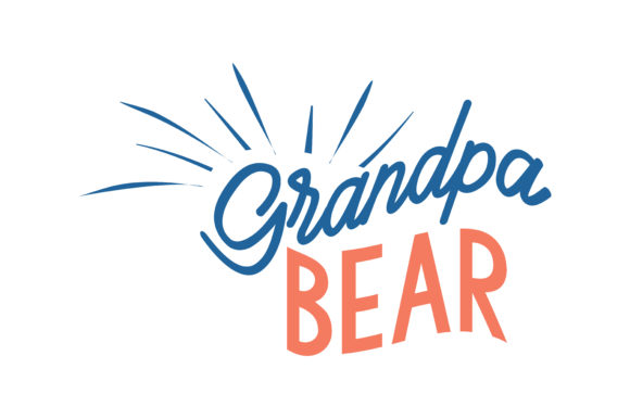 Print on Demand: Grandpa Bear Quote SVG Cut Graphic Crafts By TheLucky
