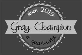 Gray Champion Font By Illustration Ink