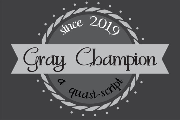Print on Demand: Gray Champion Serif Font By Illustration Ink