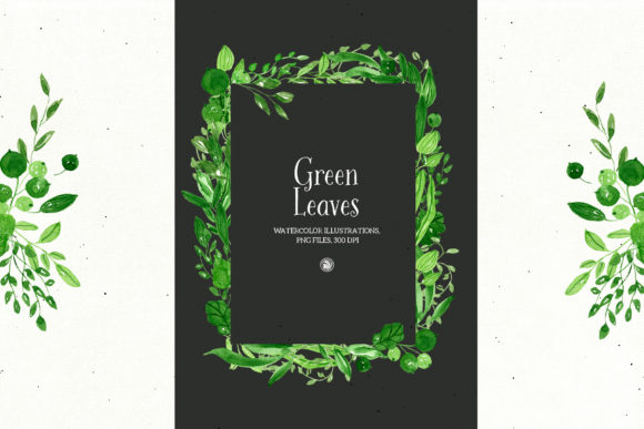 Green Leaves Graphic Illustrations By webvilla - Image 3