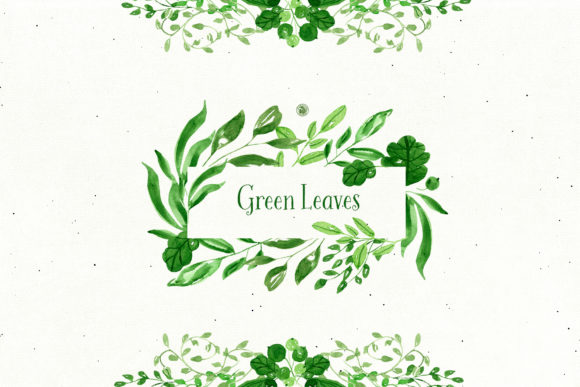 Green Leaves Graphic Illustrations By webvilla - Image 4