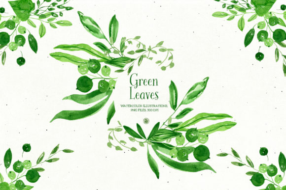 Green Leaves Graphic Illustrations By webvilla