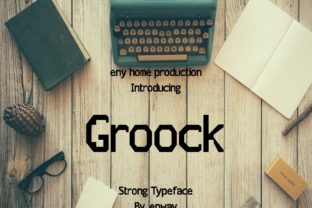 Groock Font By enway