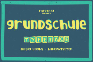 Grundschule Font By raretracks