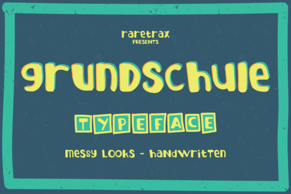 Print on Demand: Grundschule Script & Handwritten Font By raretracks
