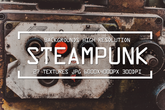 Download Free Grunge Steampunk Textures Overlays Background Pack Graphic By for Cricut Explore, Silhouette and other cutting machines.