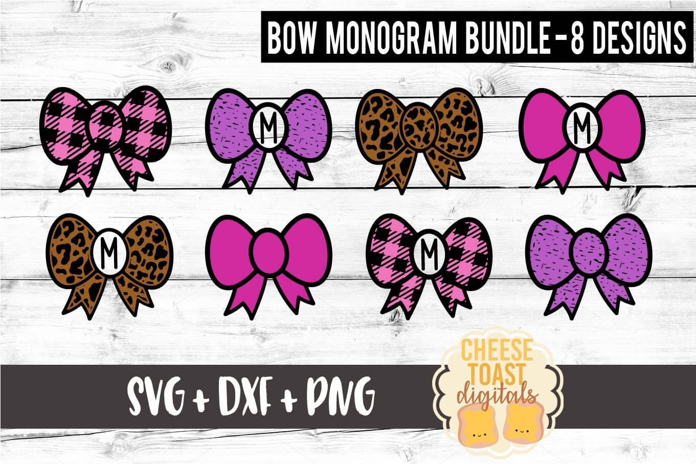 Download Free Hair Bow Monogram Bundle Graphic By Cheesetoastdigitals for Cricut Explore, Silhouette and other cutting machines.