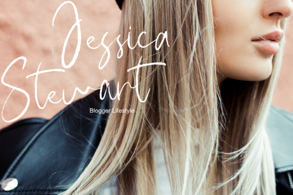 Print on Demand: Hairband Script & Handwritten Font By Pasha Larin - Image 3