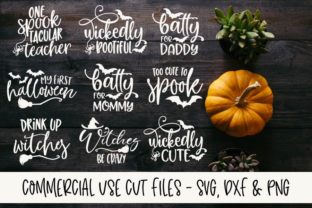 Spooky Fun Halloween SVG Bundle Graphic By GraceLynnDesigns