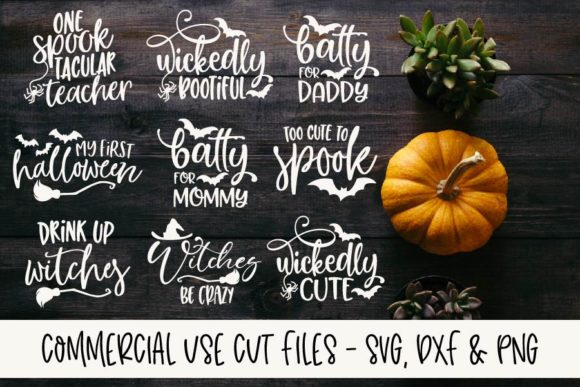 Download Free Spooktacular Halloween Bundle Bundle Creative Fabrica for Cricut Explore, Silhouette and other cutting machines.