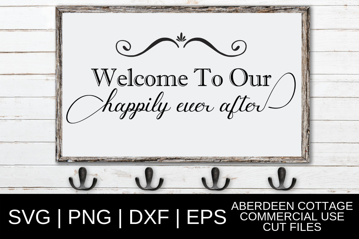 Download Free Happily Ever After Wedding Design Graphic By Aberdeencottage for Cricut Explore, Silhouette and other cutting machines.