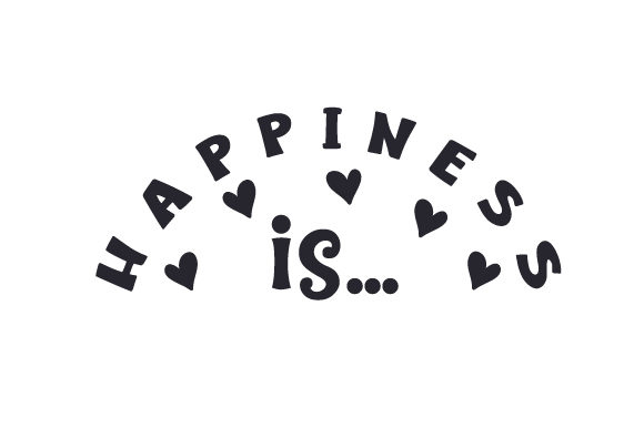 Download Free Happiness Is Svg Cut File By Creative Fabrica Crafts for Cricut Explore, Silhouette and other cutting machines.