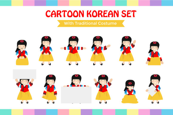 Download Free Happy Chuseok With Korean Kids Graphic By Griyolabs Creative for Cricut Explore, Silhouette and other cutting machines.