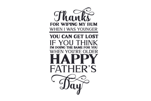 Happy Father's Day Quotes Craft Cut File By Creative Fabrica Crafts