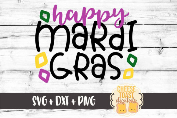 Download Free Happy Mardi Gras Mardi Gras Svg Graphic By Cheesetoastdigitals for Cricut Explore, Silhouette and other cutting machines.