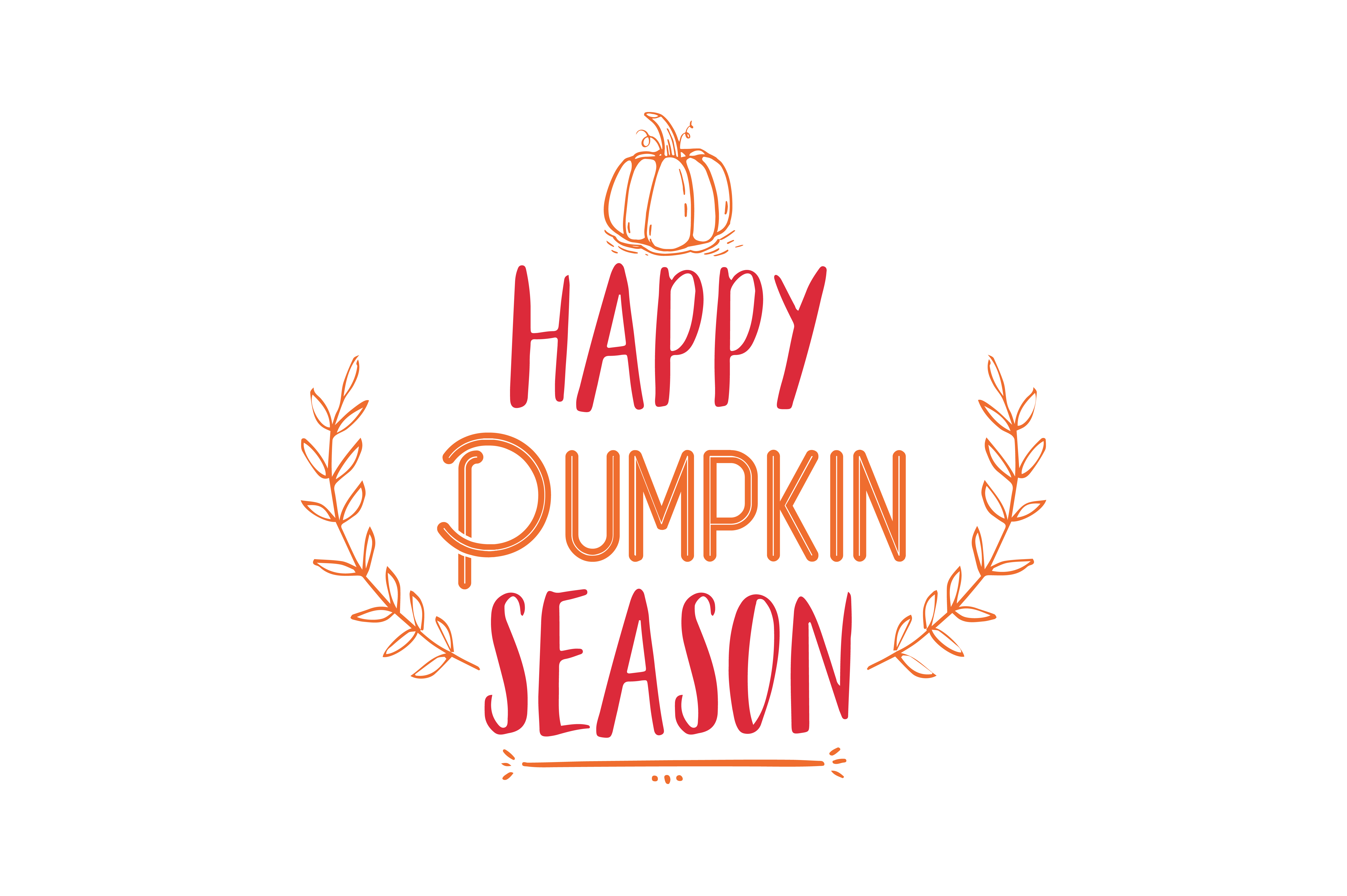Download Free Happy Pumpkin Season Quote Svg Cut Graphic By Thelucky for Cricut Explore, Silhouette and other cutting machines.